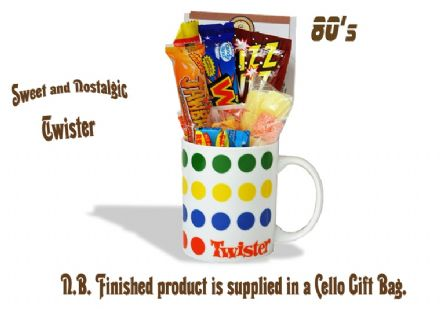 Twister Mug with/without a bone bending portion of 80's Sweeties